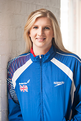 A photo of Rebecca Adlington