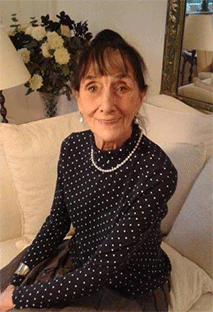 A photo of actress June Brown