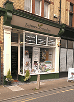 A photo of the exterior of Natures Remedies